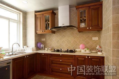锦绣江南欧式风格-厨房装修效果图-宁波装修网装修