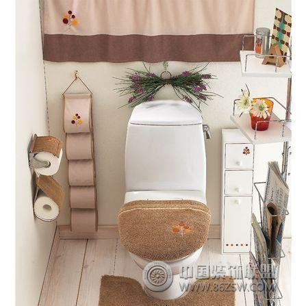 粉红色卫生间 不再单调卧室装修图片