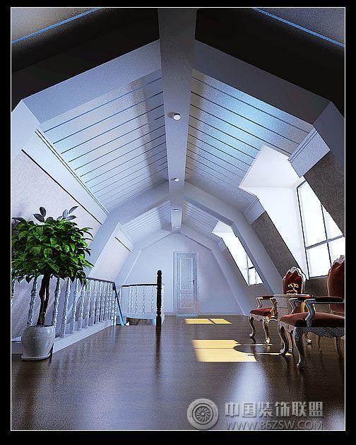 翰园欧式别墅设计风格 阁楼装修图片