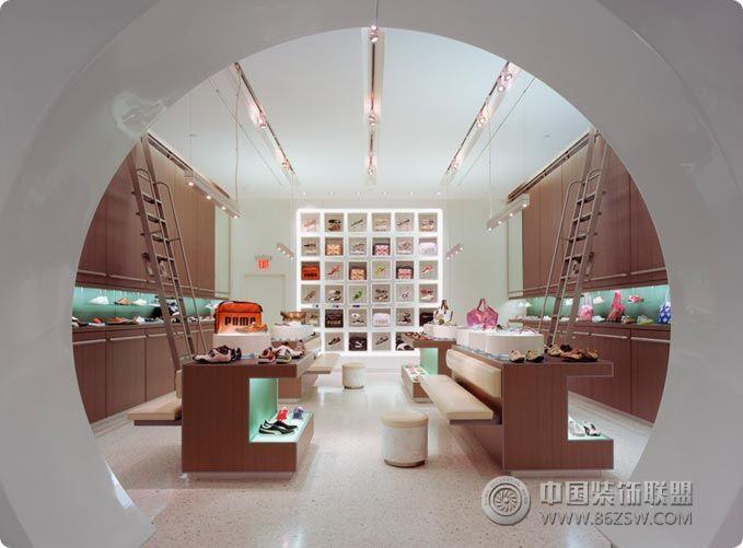 酷炫鞋店个性空间设计 专卖店装修图片