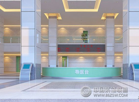 深圳中医院装修效果 单张展示 医院装修效果图 -深圳中医院装修效果