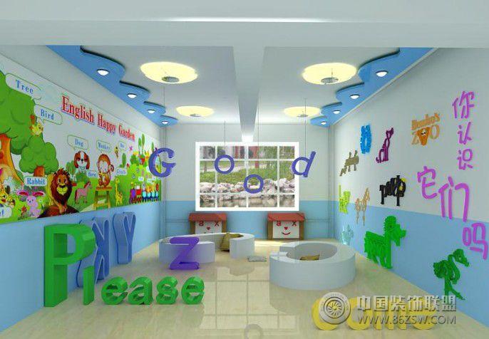 桃李路幼儿园 单张展示 学校装修效果图 宁波装饰网