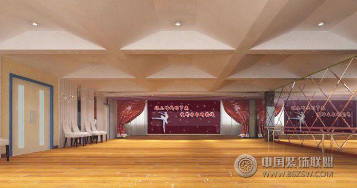学校舞蹈厅 单张展示 学校装修效果图