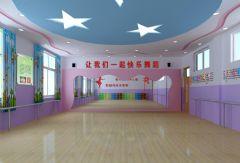 小学 舞蹈教室 单张 展示 学校 装修效果图 宁波装