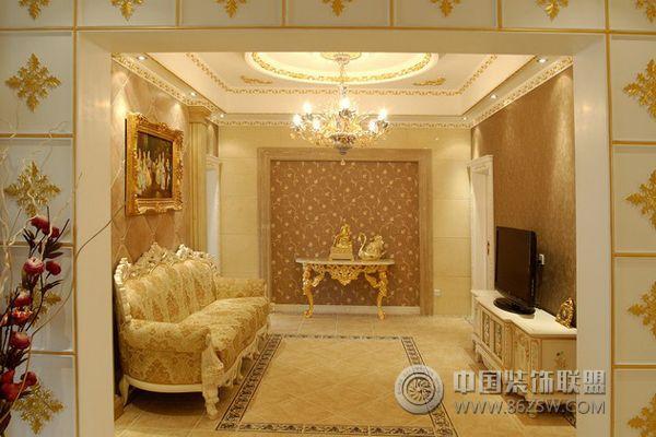 15万打造欧式奢华雅居 过道装修效果图 宁波装饰网