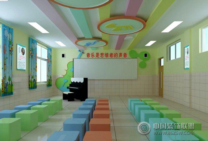 小学舞蹈教室 单张展示 学校装修效果图