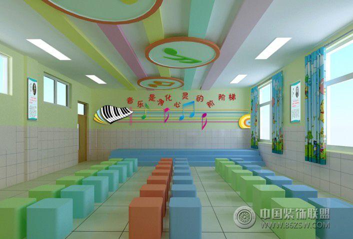 小学校园音乐教室 单张展示 学校装修效果图