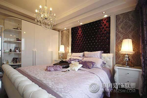 二居室 119.00㎡ 卧室装修效果图 低调奢华 30万装修