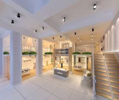 商场服装 店 单张展示 咖啡 厅装修 效果图 宁波装