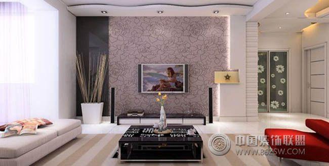 90平米小户型 挑战空间极限客厅装修图片