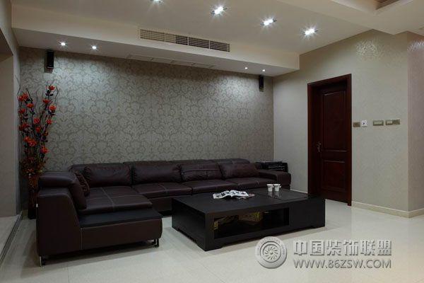 9万装210平米复式楼 客厅装修图片