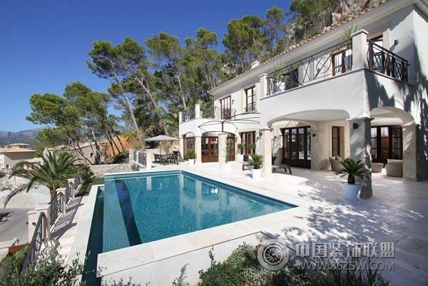 惊艳泳池图纸别墅v泳池(一)-其它装修效果图-宁华西钢筋私家图片