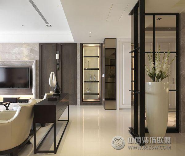 台湾豪宅装修设计 书房装修效果图