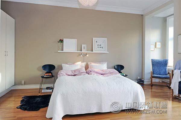3万元装60平米简约休闲公寓 卧室装修图片