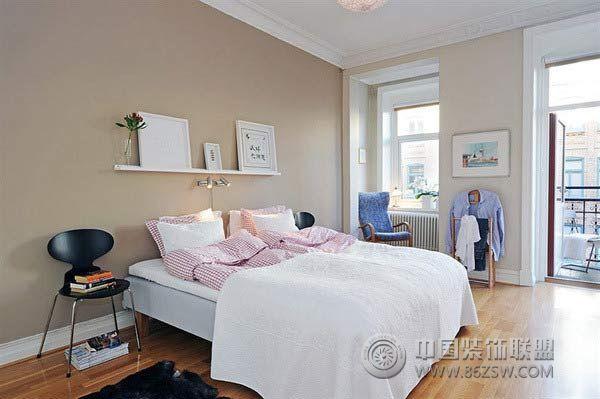 3万元装60平米简约休闲公寓 卧室装修效果图 -3万元装60平米简约休闲