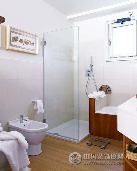 清新北欧风格卫浴设计 一 卫生间装修效果图 -清新北欧风格卫浴设计
