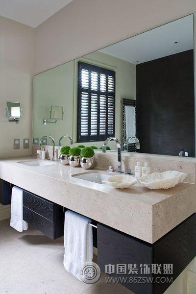 清新北欧风格卫浴设计 二 卫生间装修效果图 -清新北欧风格卫浴设计