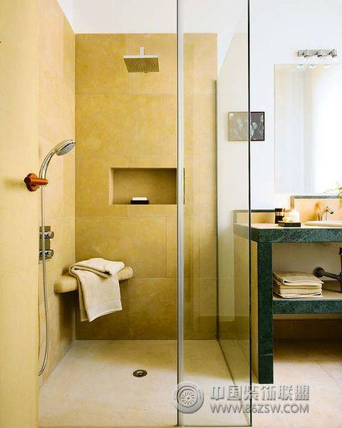 清新北欧风格卫浴设计 三 卫生间装修效果图 -清新北欧风格卫浴设计