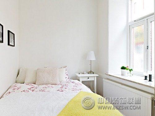 45平方米白领小公寓 卧室装修效果图 宁波装修