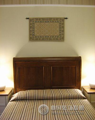 6万元装修125平米田园风三居 卧室装修效果图