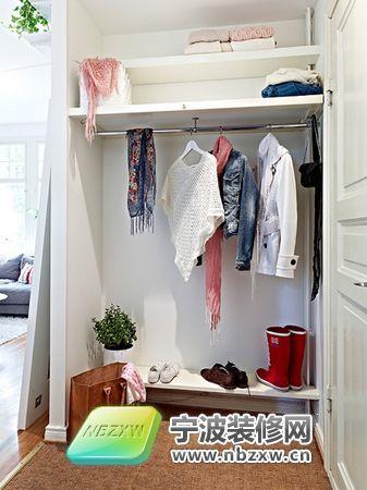 50平方独特一房一厅公寓 玄关装修效果图高清图片