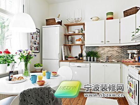50平方独特一房一厅公寓 厨房装修效果图高清图片