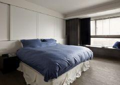 16万精装122平米 黑白灰 三室两厅 过道 装修效
