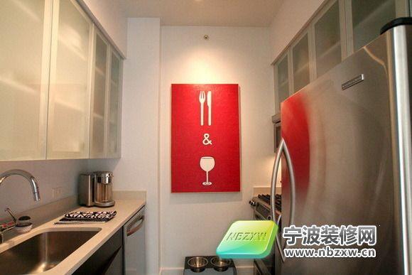 厨房 简约风格装修效果图 简约与缤纷的结合