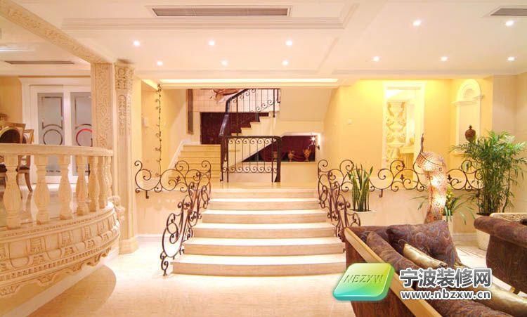 豪华别墅室内设计 一 客厅装修图片