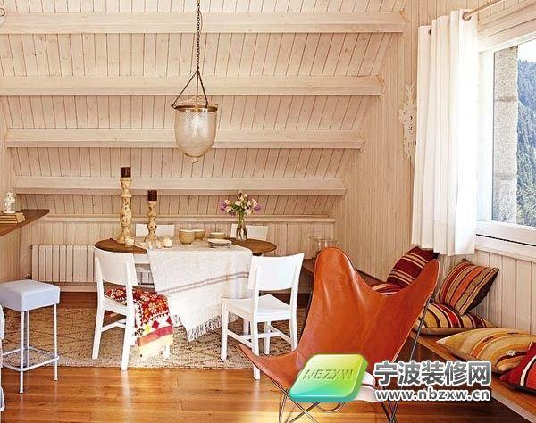 西班牙异域风阁楼公寓 餐厅装修效果图高清图片