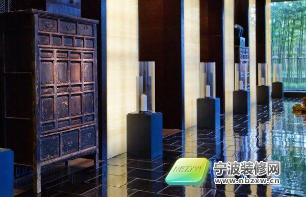 上海璞丽酒店 过道装修效果图 宁波装饰网装修效果