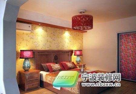 119平米豪华套间 卧室装修效果图 宁波装饰网装修