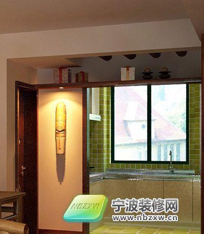 119平米豪华套间 厨房装修效果图