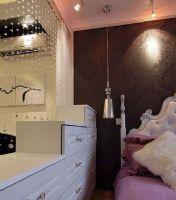 40平米小夫妻一居室 卫生间装修效果图 宁波装