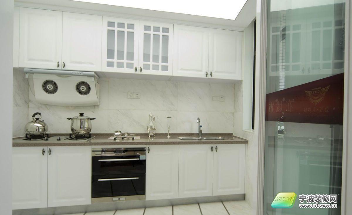 梦幻白色欧式豪宅-厨房装修效果图-宁波装修网装修