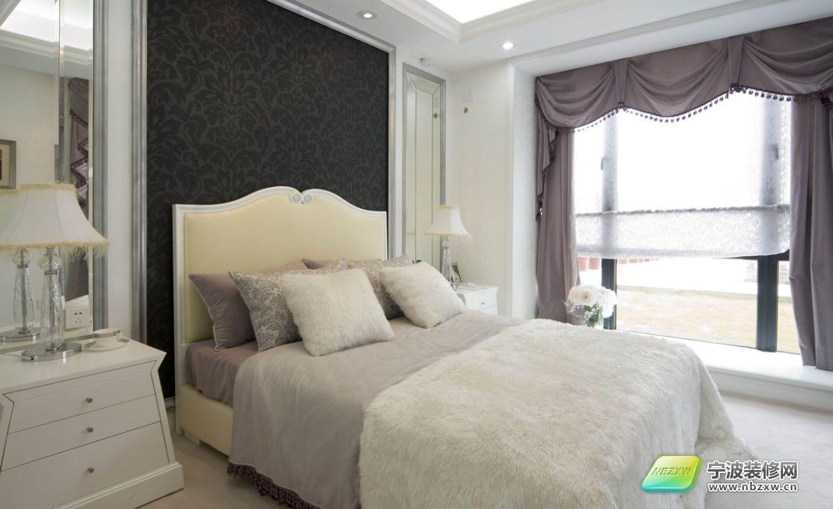 梦幻白色欧式豪宅-卧室装修效果图-宁波装修网装修图片