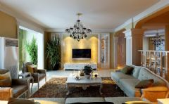 欧洲唯美洛可可公主房 欧式风格装修效果图 宁