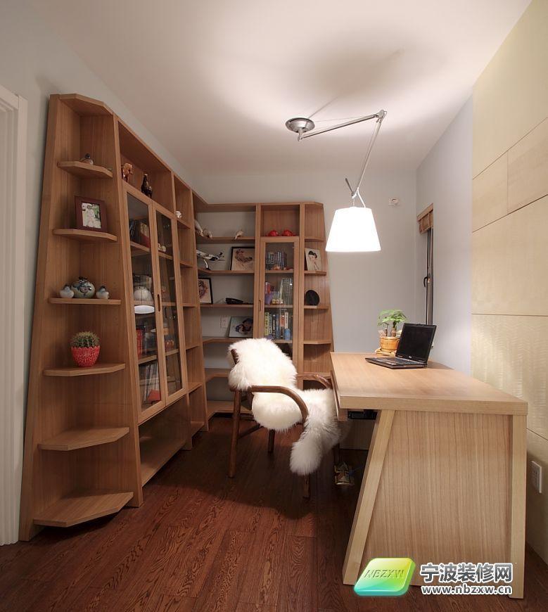 5平米现代简约婚房 书房装修效果图 -155平米现代简约婚房 书房装修