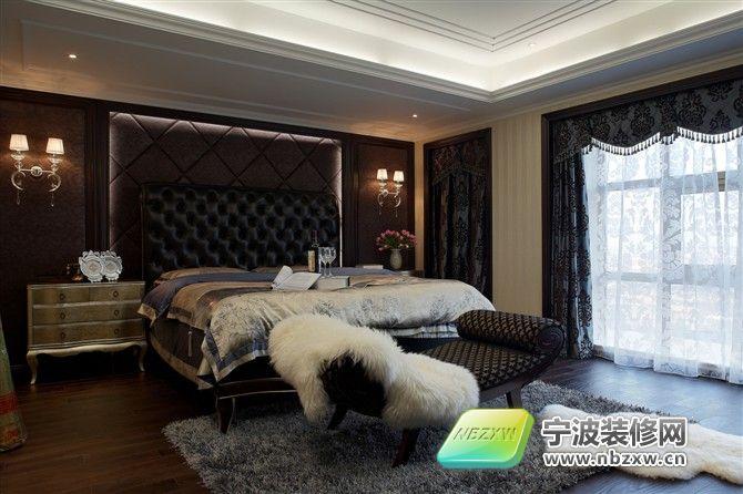 缇香跃层样板房-卧室装修效果图-宁波装修网装修效果
