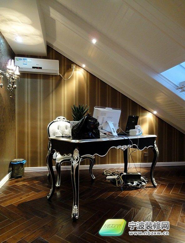 175平欧式豪华复式样板房-欧式风格装修效果图-宁波