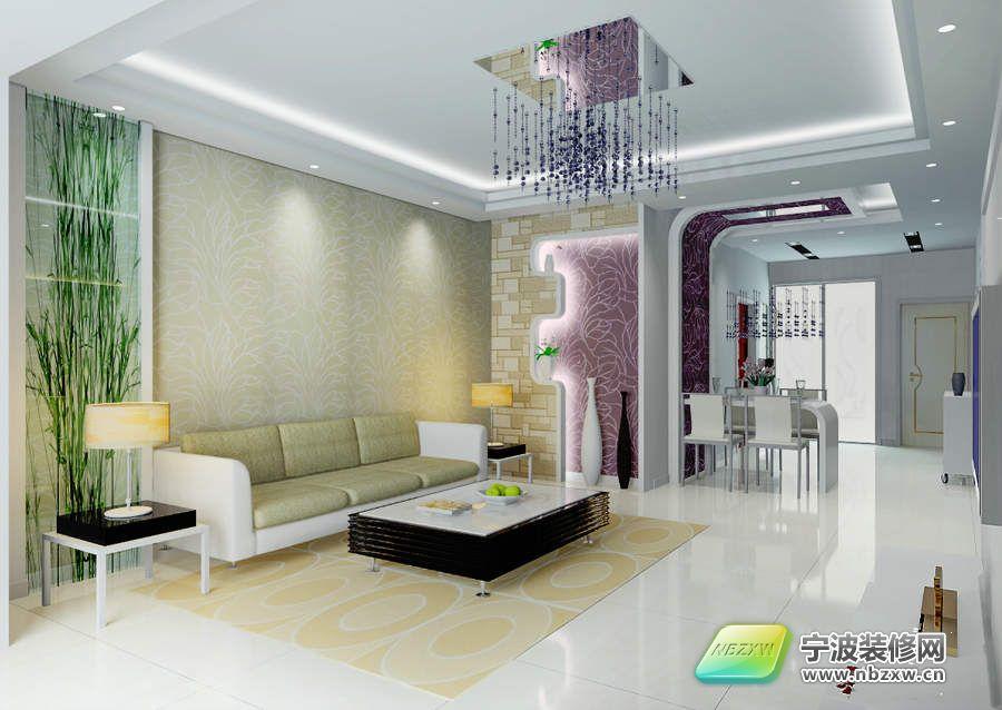 120平米三室两厅简欧浪漫窝 客厅装修图片