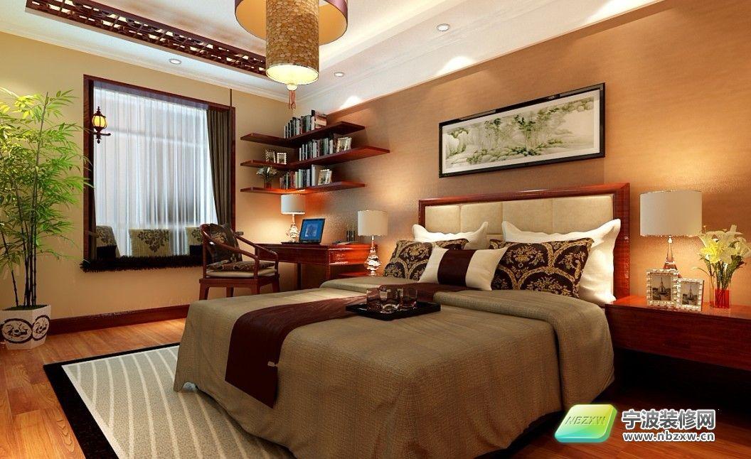 140平米华丽欧式3居室 卧室装修效果图 宁波装修网