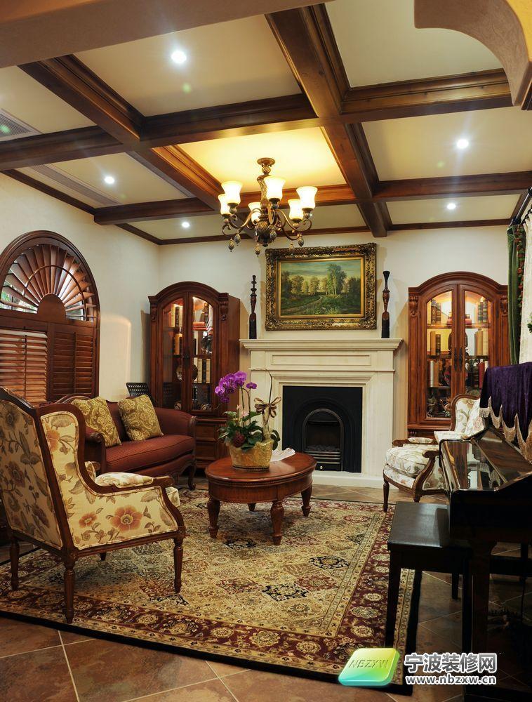 420平米托斯卡纳式风格独立别墅 客厅装修效果