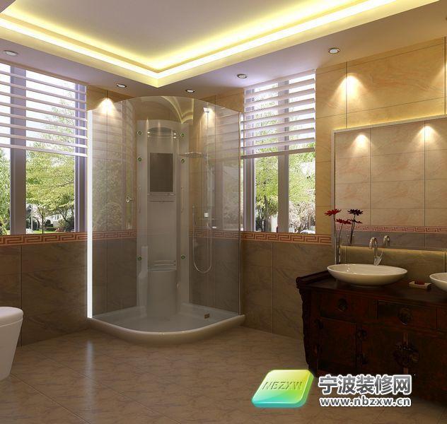 96平米温和、简洁、实用信息-卫生间装修呼市室内设计师v信息之家图片