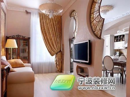 欧式古典风格室内效果图 装修案例 宁海县经维装饰