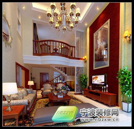 欧式古典风格室内效果图 客厅装修图片