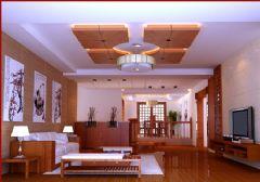 宁海滨江豪园中式风格豪宅