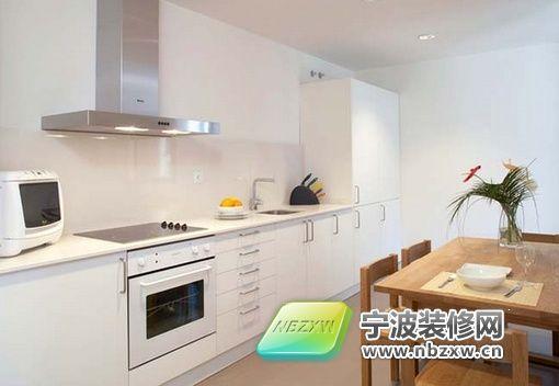 45平米简约时尚公寓 厨房装修图片