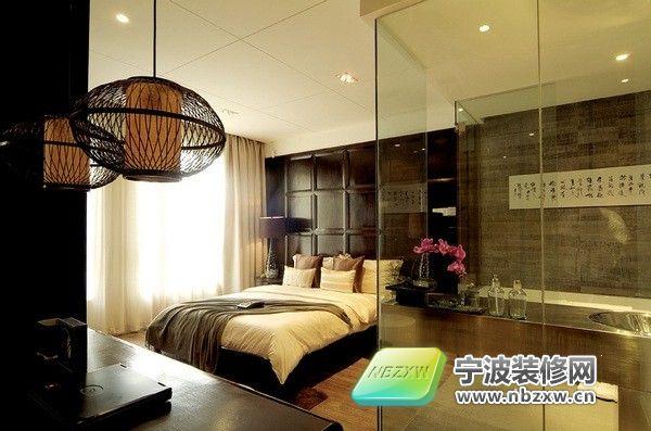 90平米精致后现代婚房 卧室装修效果图