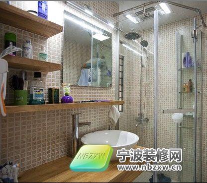 90平米2居室 4.5万极简约风格家居 卫生间装修效果图